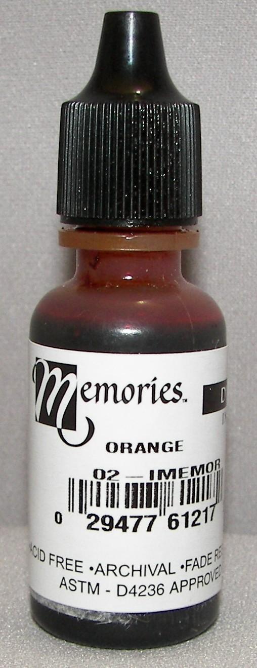 Memories Ink Dye Orange