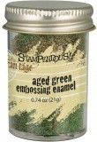 Aged Embossing Powder Green