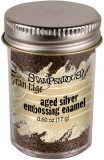 Aged Embossing Powder Silver