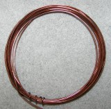 Wire 18 Gauge Aluminum Brown