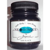 Jacquard Neopaque Acrylic Paint Black