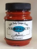Jacquard Neopaque Acrylic Paint Russet