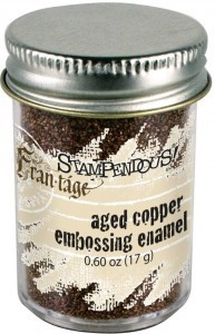 Aged Embossing Powder Copper