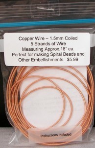 Wire Hollow Wire 1.3mm Copper