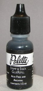 Heat Activated Glue Black