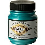 Jacquard Lumiere Acrylic Paint Pearl Turquoise